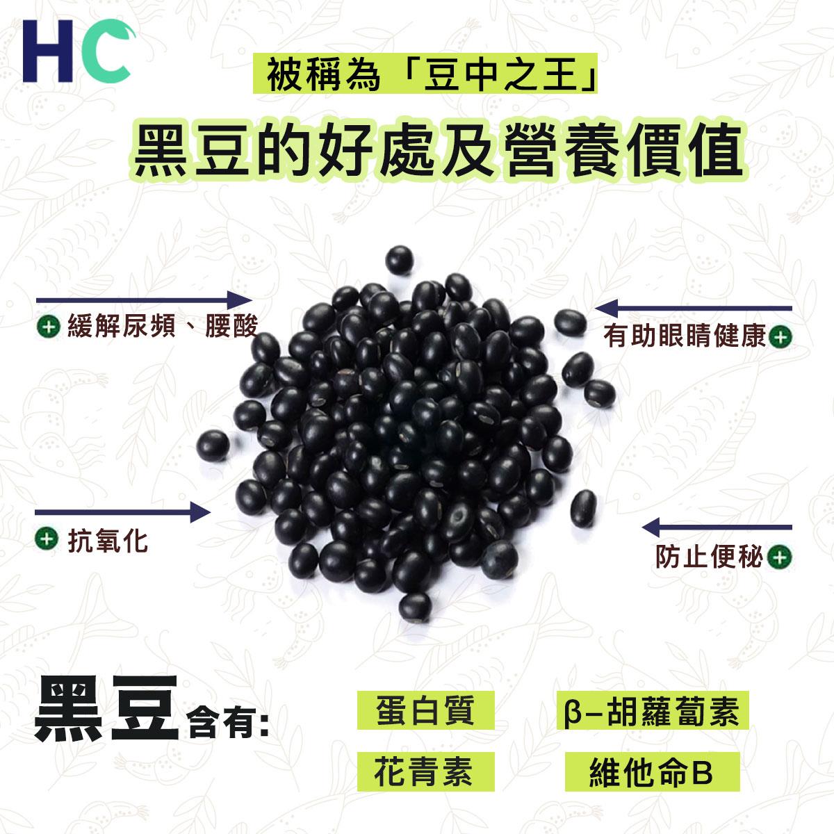 【營養食物】黑豆的好處及營養價值
