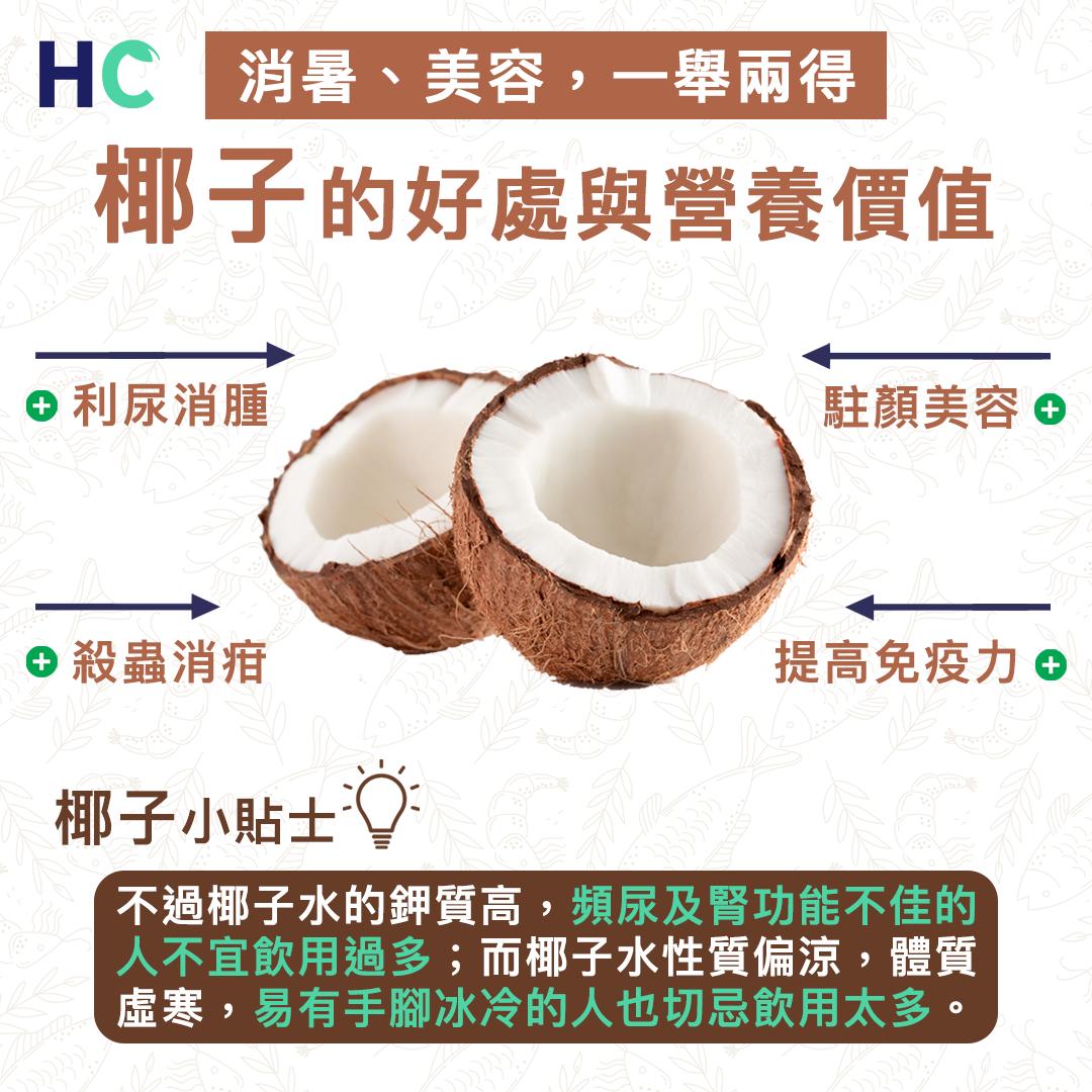 【#營養食物】椰子的好處與營養價值