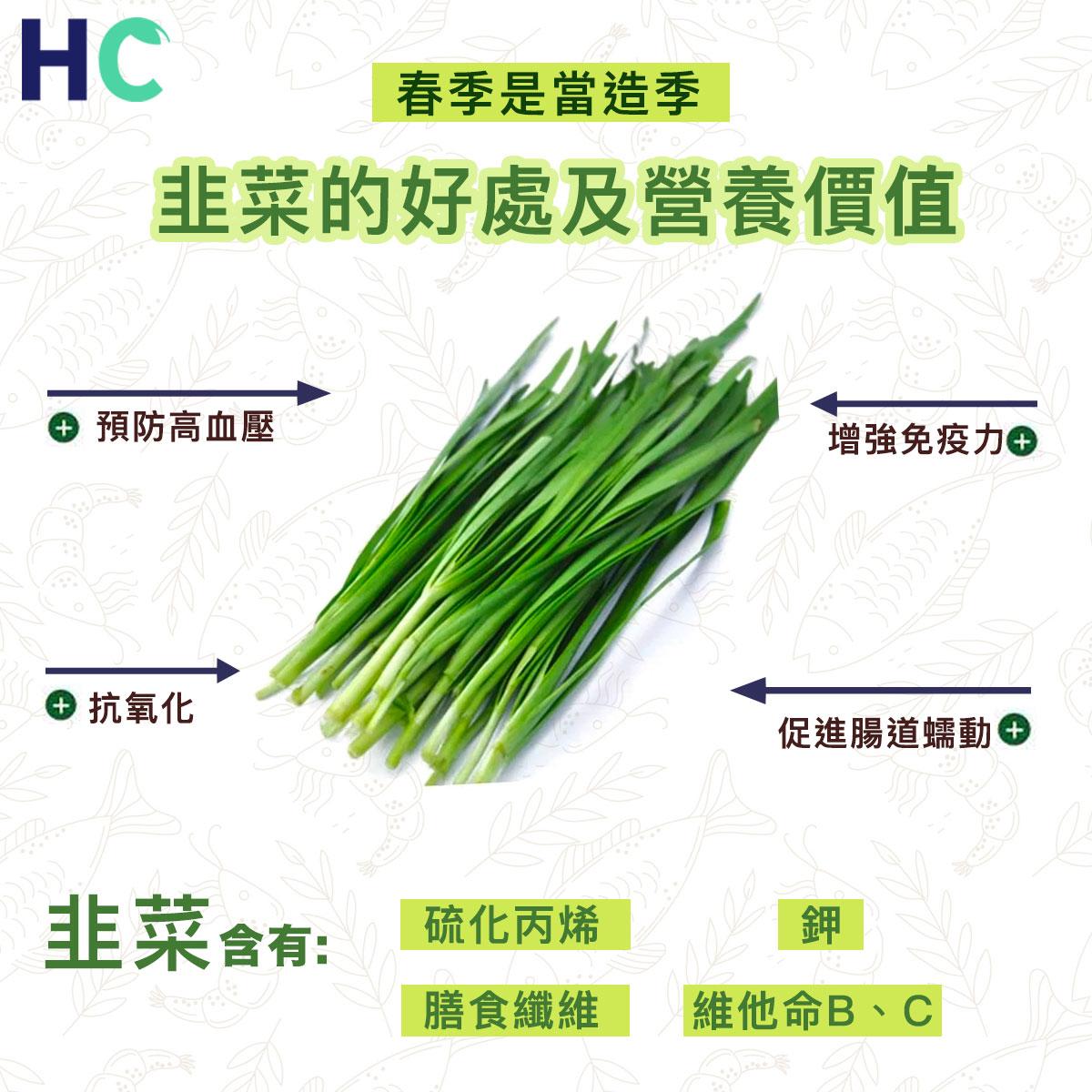 【#營養食物】韭菜的好處及營養價值