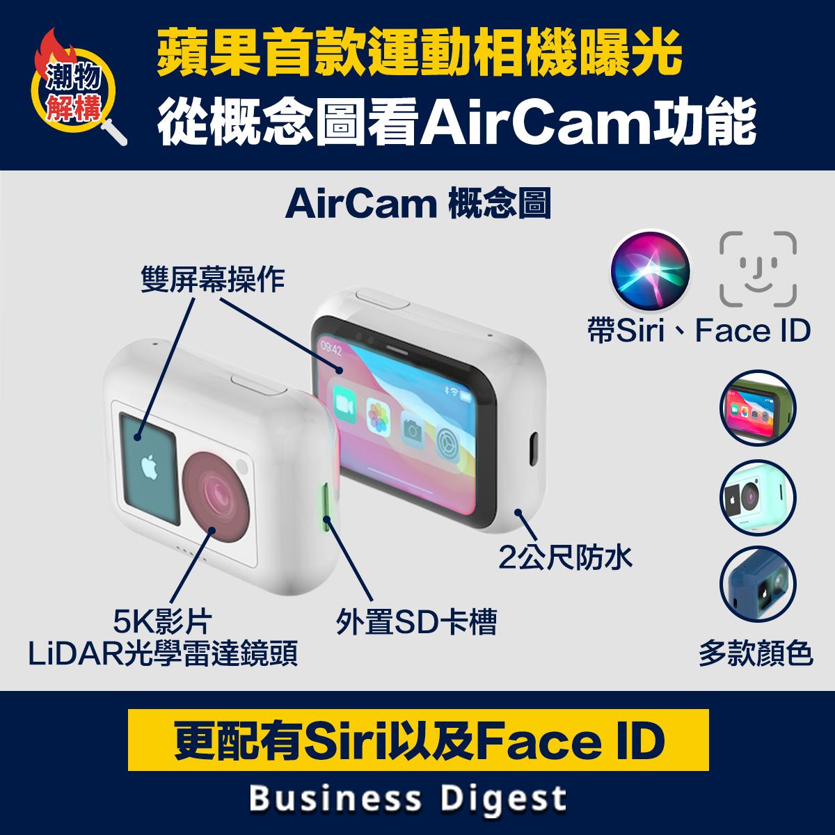 蘋果首款運動相機曝光,從概念圖看AirCam功能