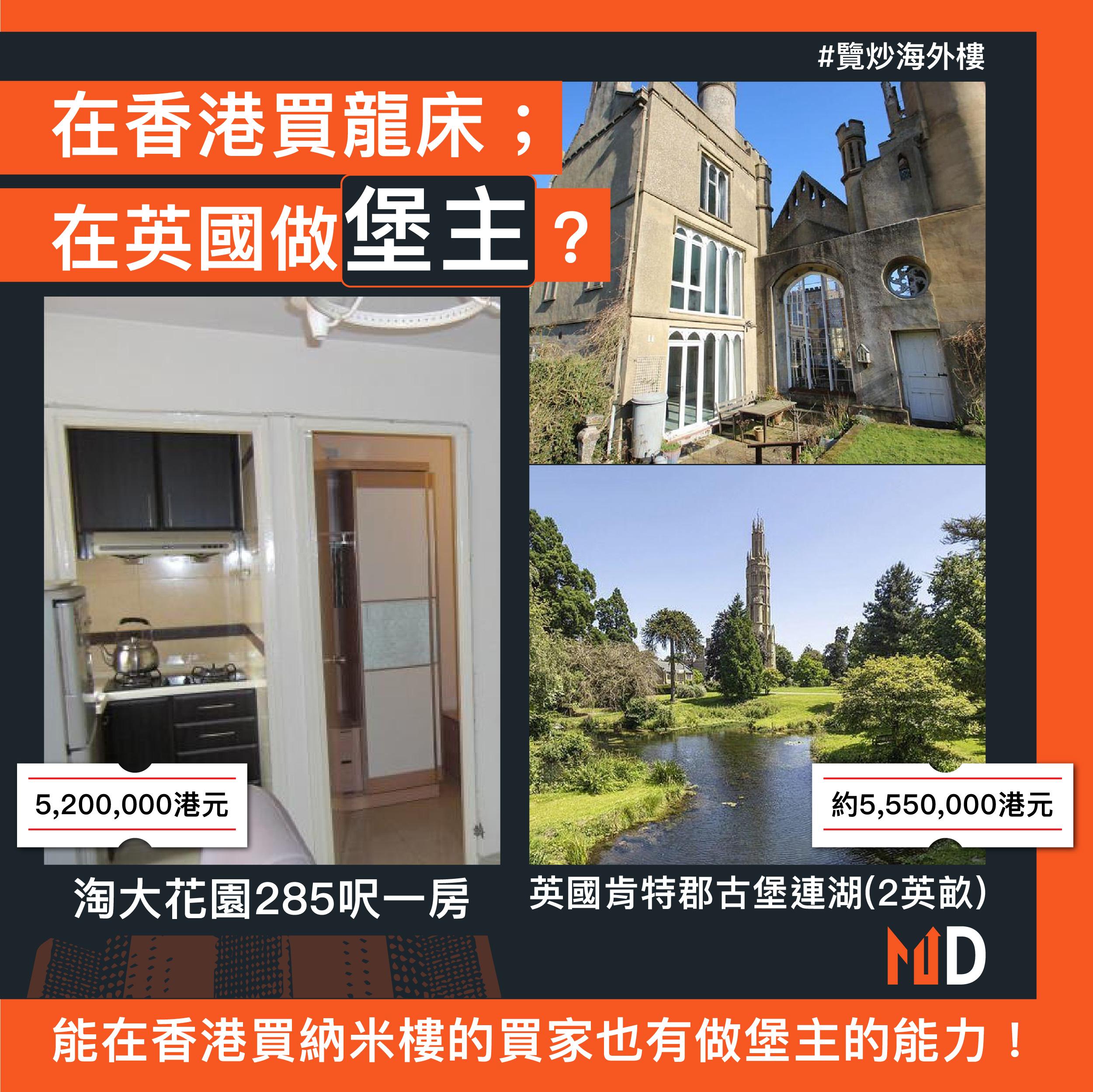 【覽炒海外樓】在香港買龍床;在英國做堡主?