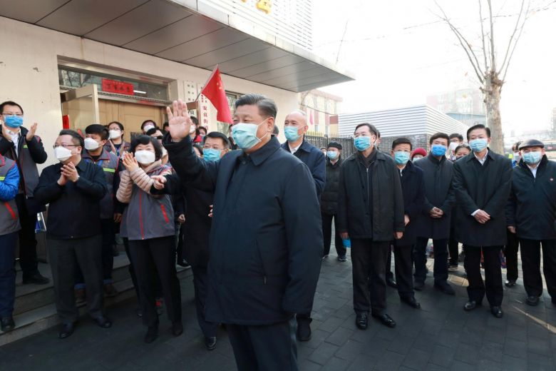 Xi Jinping makes first-line inspection after outbreak