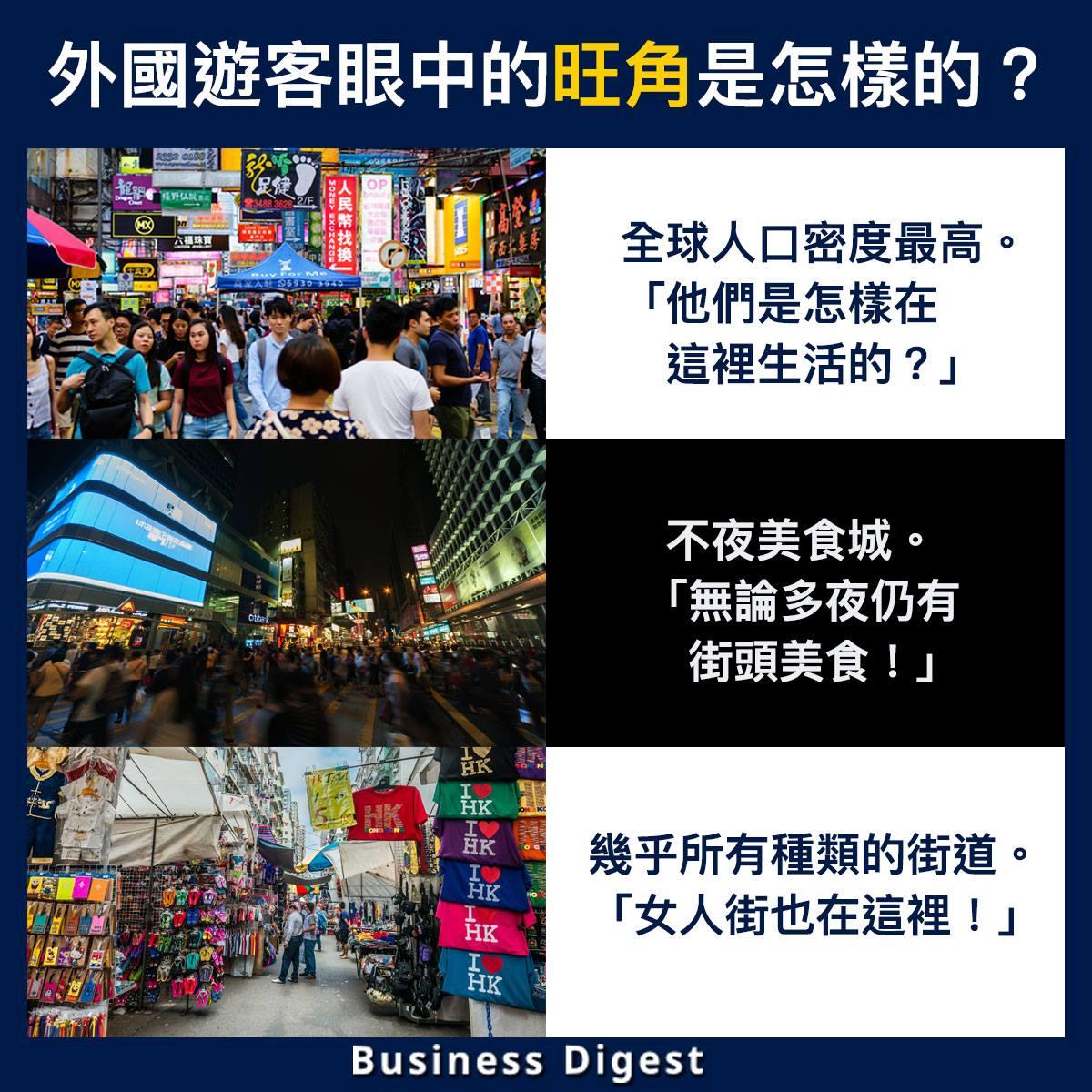 【商業熱話】外國遊客眼中的旺角是怎樣的?