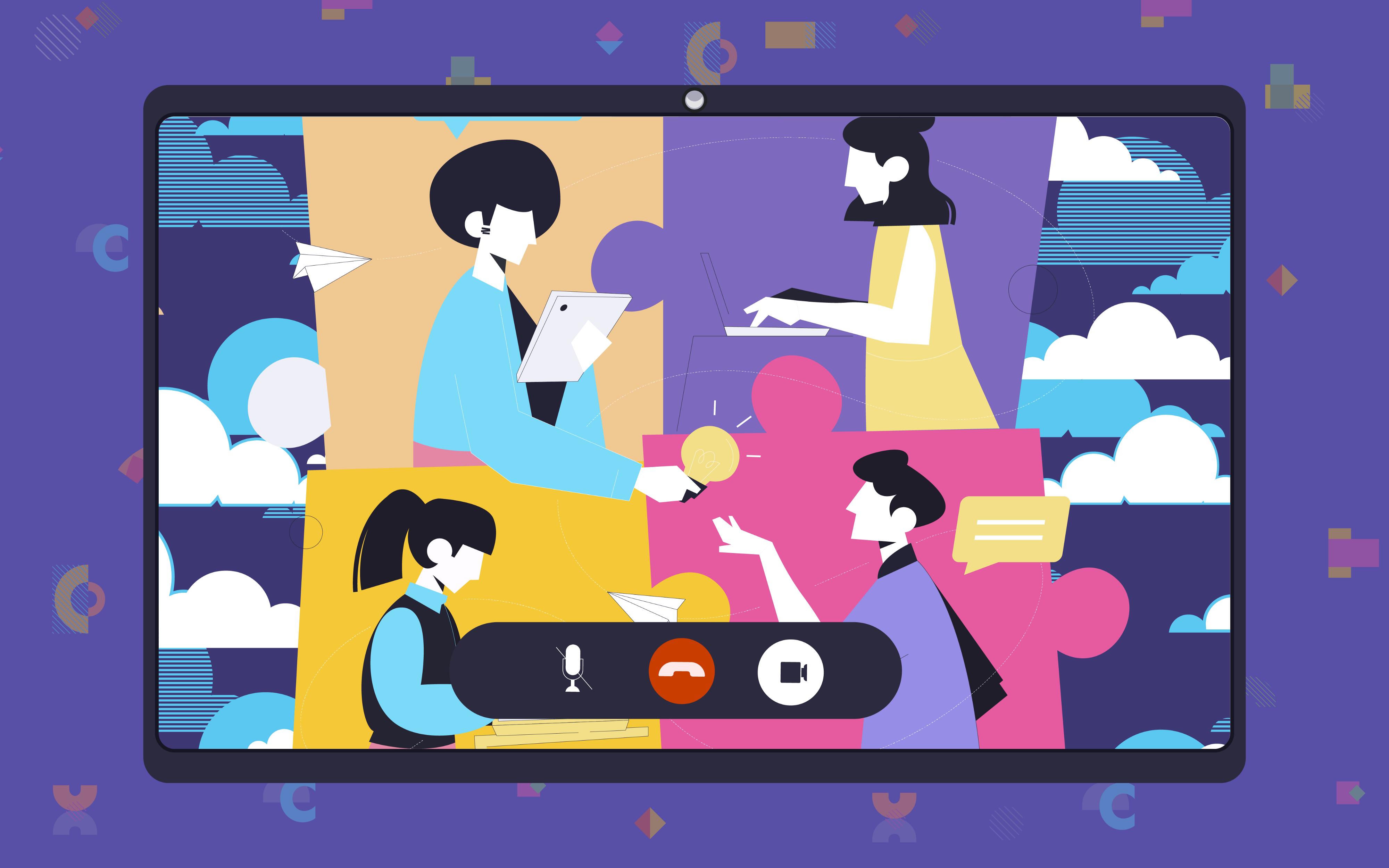 線上下午茶Team Building活動所營造的氣氛讓彼此分享過程更輕鬆
