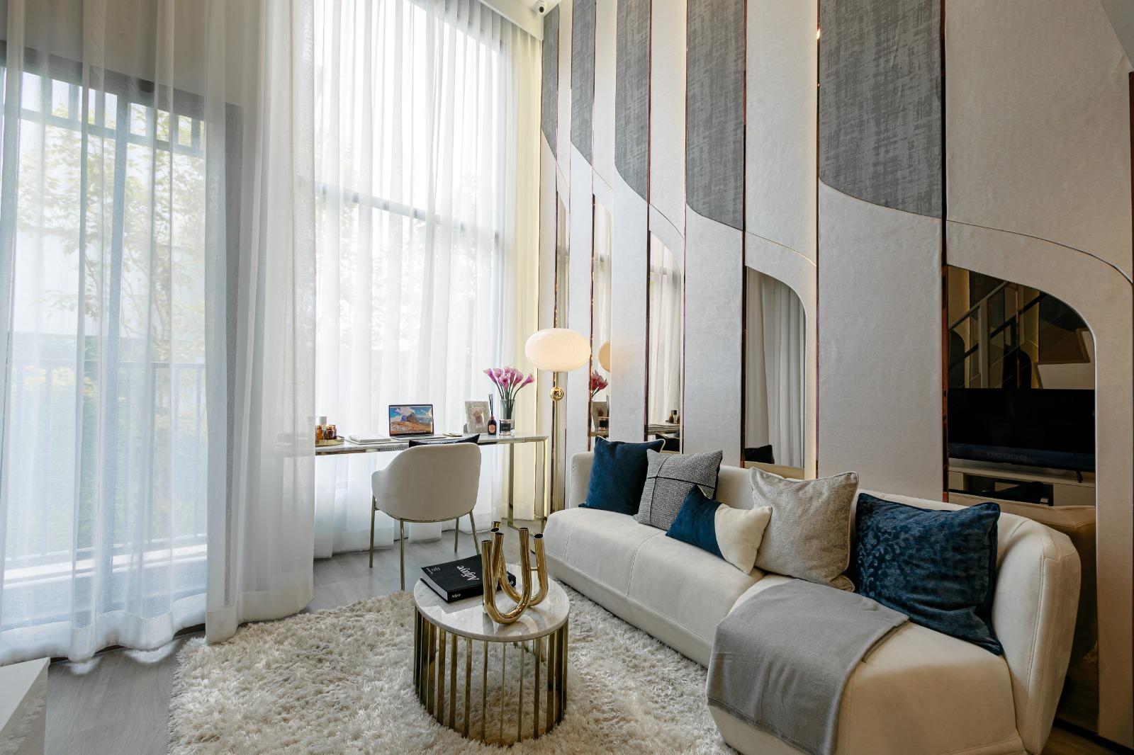 SOHO Bangkok Ratchada是該區是專業人士聚居地,投資旅居皆宜,預計每年平均租賃回報6%*