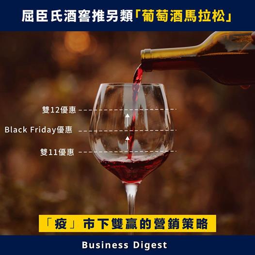 屈臣氏酒窖推另類「葡萄酒馬拉松」,「疫」市下雙贏的營銷策略