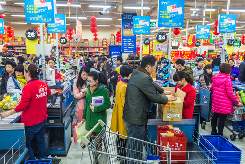 How did China ensure supermarket supply during the outbreak? | China Perspective