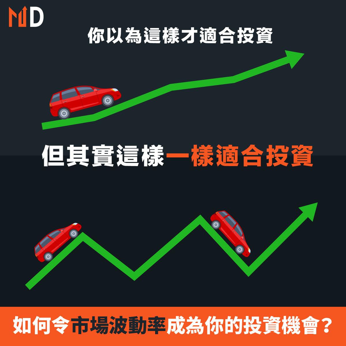 【投資竅門】遇上波動市況甚至大回調時,如何令市場波動率成為你的投資機會?