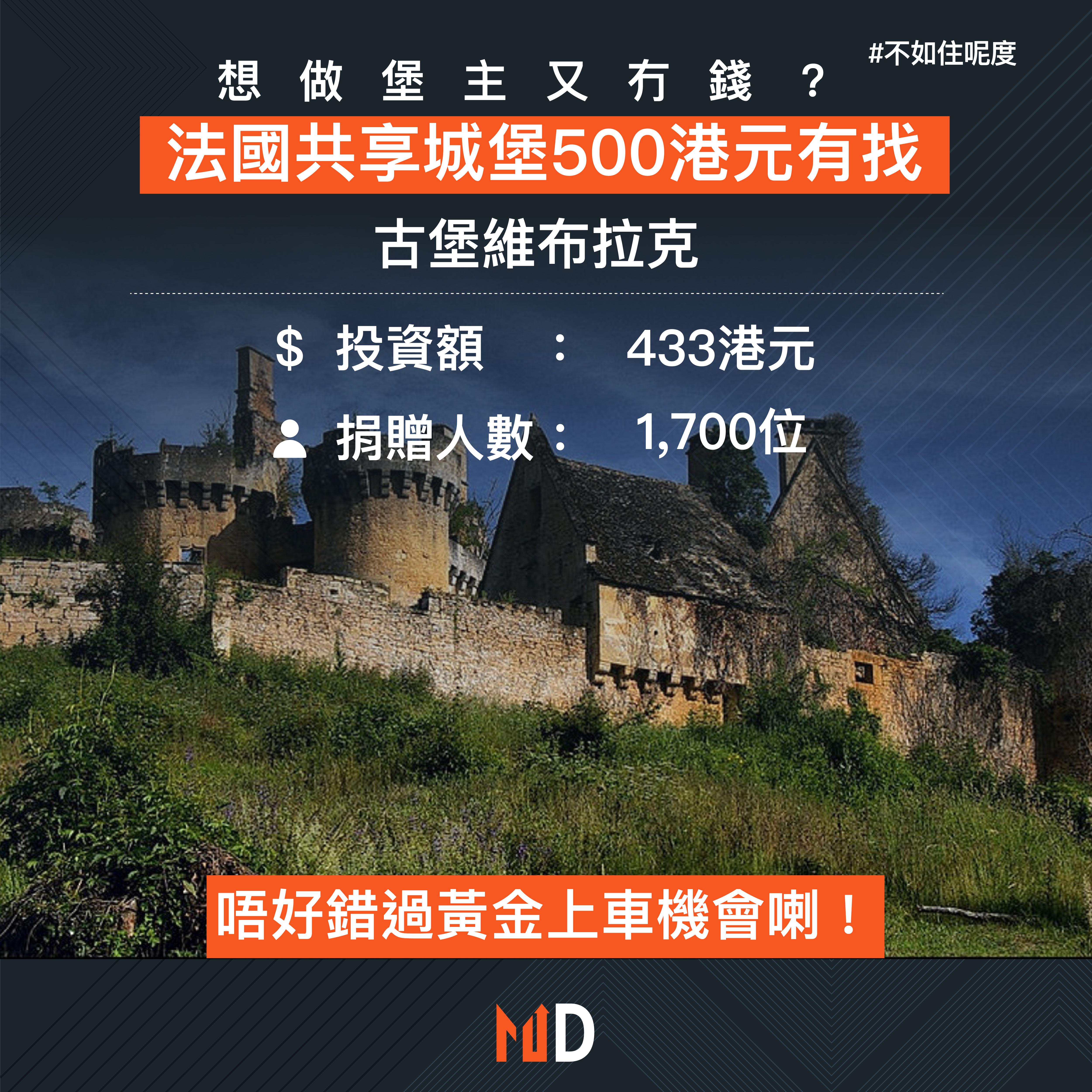 【不如住呢度】想做堡主又冇錢? 法國共享城堡500港元有找