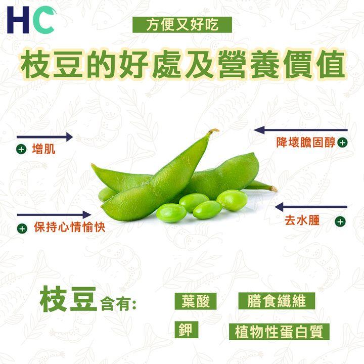 【#營養食物】枝豆的好處及營養價值