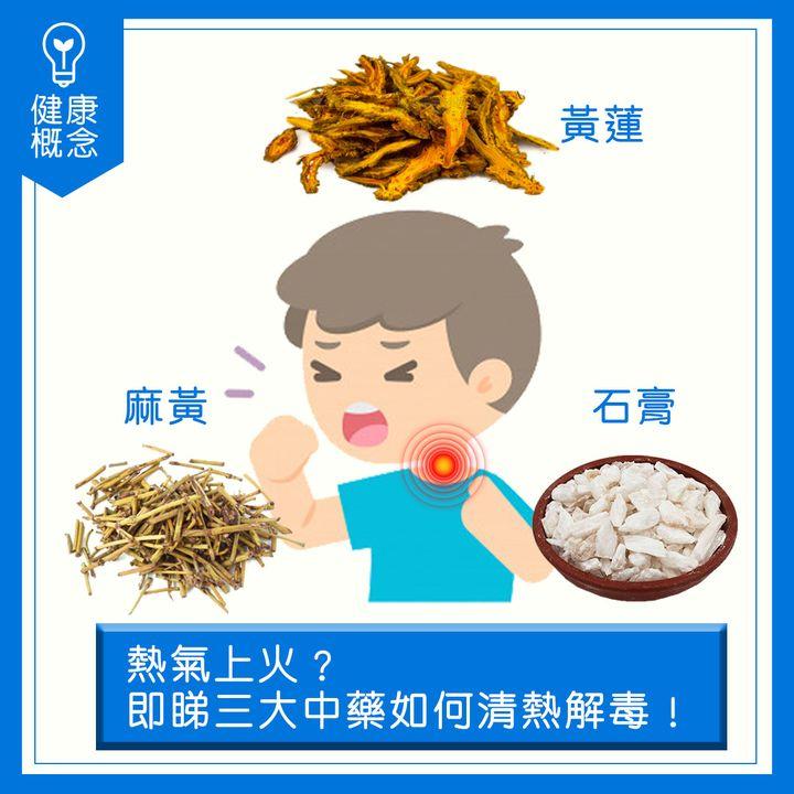 【#營養食品】熱氣上火?即睇三大中藥如何清熱解毒!