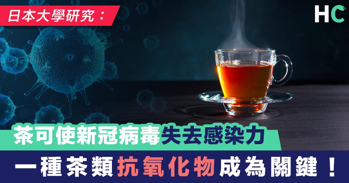 日大學研究:茶可使新冠病毒失去感染力 一種茶類抗氧化物成為關鍵!