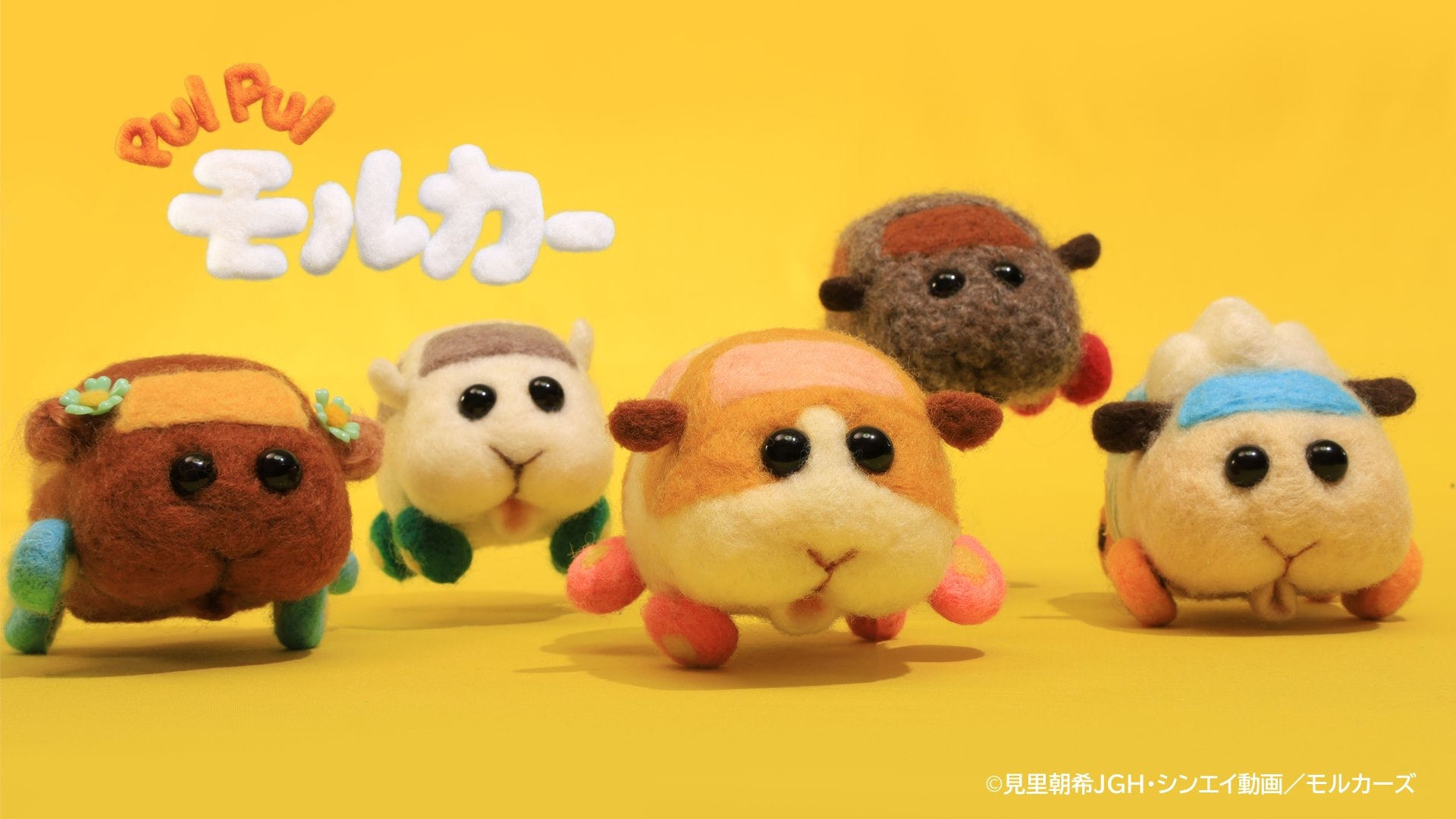 最近日本定格動畫《PUI PUI天竺鼠車車》在網絡上引起風潮