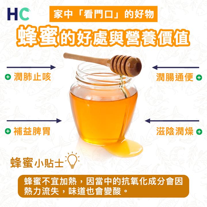 【#營養食品】蜂蜜的好處與營養價值