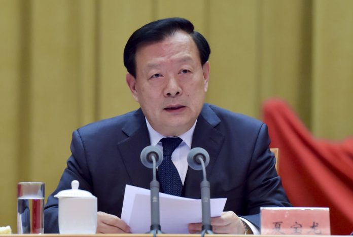 Xia Baolong concurrently serves as Director of the Hong Kong and Macao Affairs Office